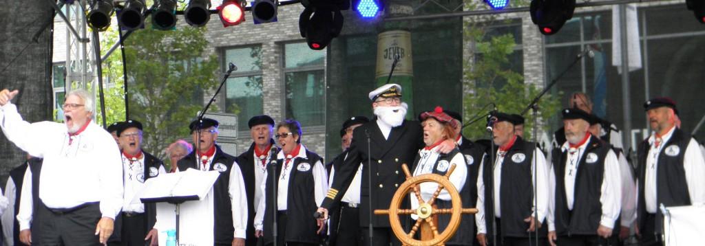Kieler Woche 2014 Auftritt auf der Max Bühne